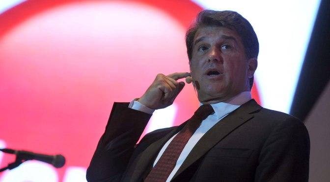 Laporta : «Bartomeu a laissé un très mauvais héritage»