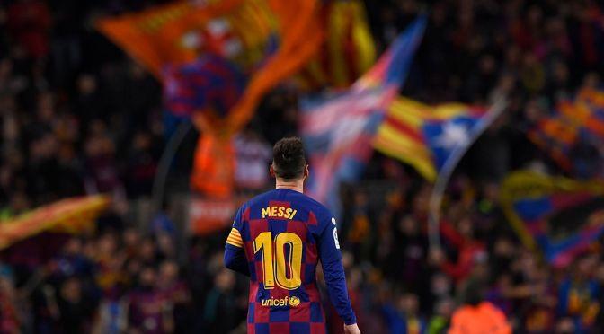 Barcelone craint le départ de Messi